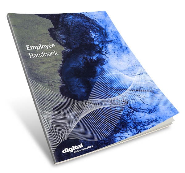 Image of Employee Handbook Template Cover Page