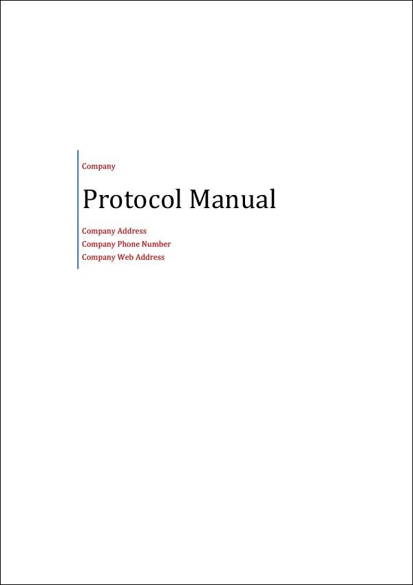 Protocol Template