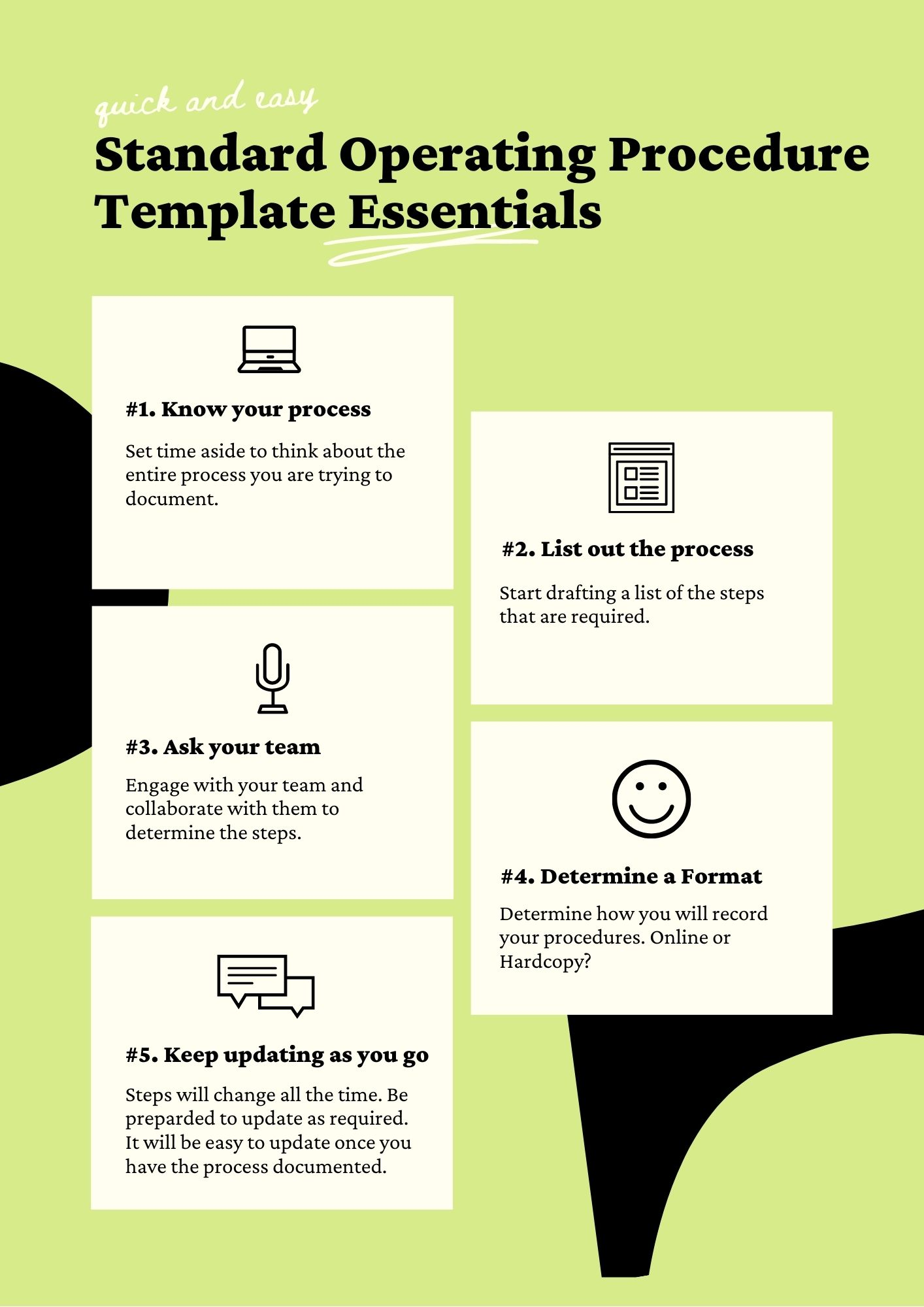 Accounting Standard Operating Procedure Template Archives Digital Documents Direct Templates Warehouse standard operating procedures template